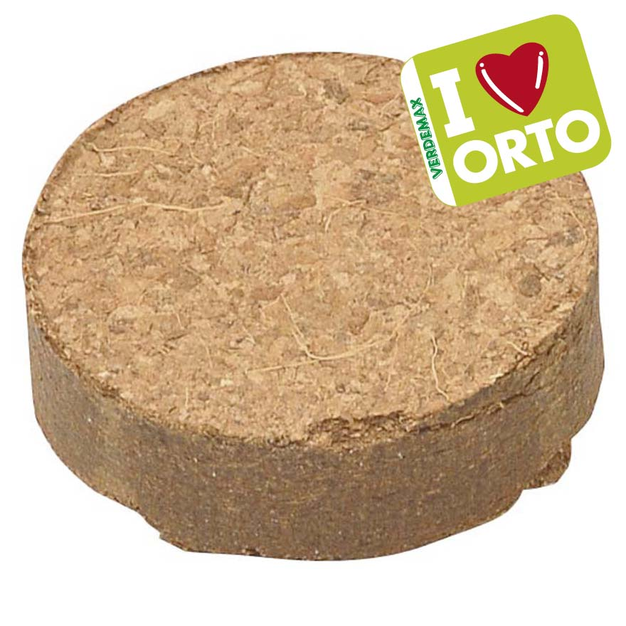 Coconut fibre tablets ø mm 4xh48 polybag 4 pcs