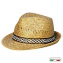 Alpinetto hat, 100% natural straw